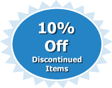 10% Off Discontinued Items