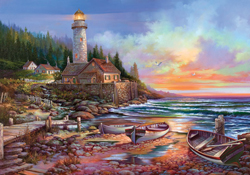 Beaches And Lighthouse Jigsaw Puzzles