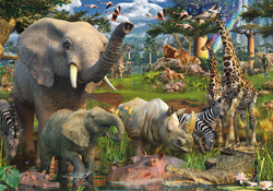 Jungle Animal Puzzles